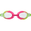 arena X-Lite Goggles Kids green pink-clear